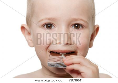 Child With Chocolate