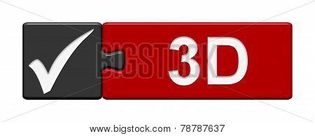 Puzzle Button: 3D