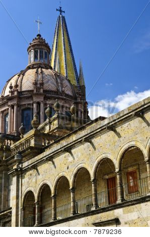 Guadalajara Cathedral In Jalisco, Mexico
