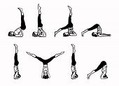 picture of inverted  - Complex of Inverted Yoga Postures  - JPG