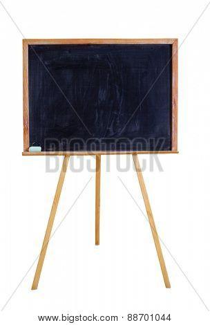 blackboard  isolated on white
