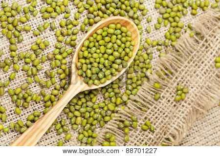 Super foods clean eating dieting organic product mung beans