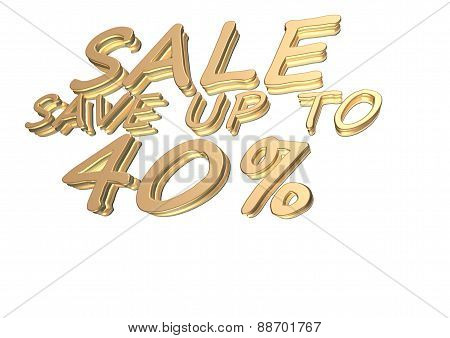 Three-dimensional Inscription Sale Save Up To 40 Percent