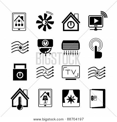 smart home system icons