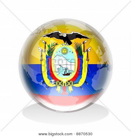 Crystal Sphere Ecuador