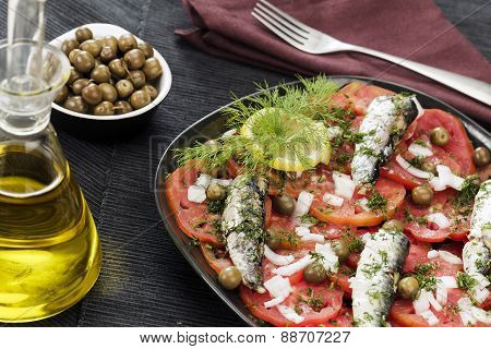Tomato And Fish Salad