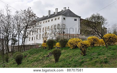 castle, Usov, Czech Republic, Europe