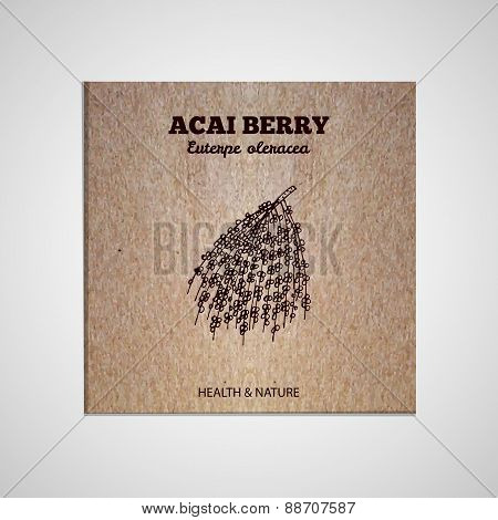 Herbs and Spices Collection - Acai Berry
