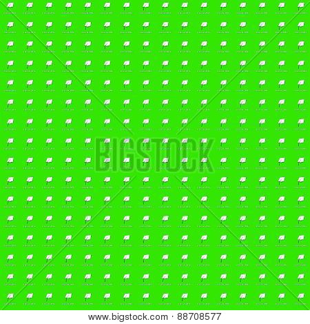 Class of 2016 White on Green Very Small Pattern