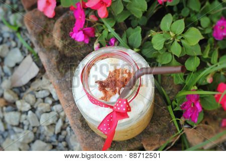 Iced Coffee With The Nature