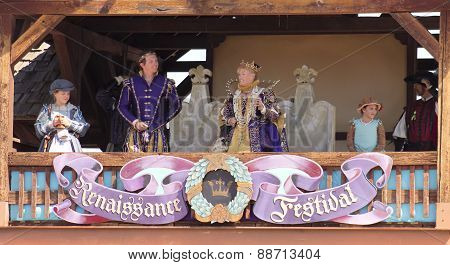 A Royal Family At The Arizona Renaissance Festival