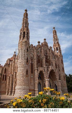 Church At Novoelda, Valencia Y Murcia,  Spain