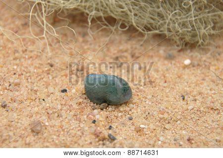 Aquamarine On Beach