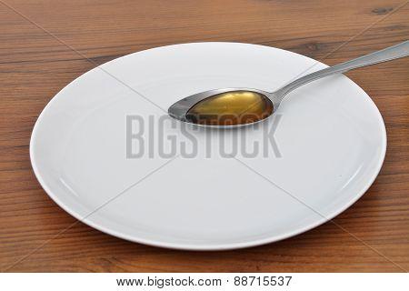 Spoon With Honey