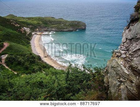 Ballota Beach, Asturia Y Cantabria, Spain