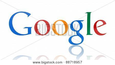 KIEV UKRAINE - FEBRUARY 19 2015:Google logotype