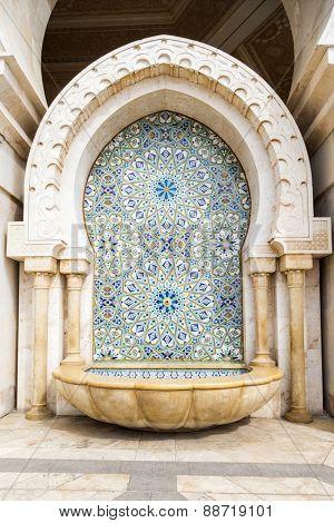 Hassan II Mosque or Grande Mosquee Hassan II in Casablanca, Morocco