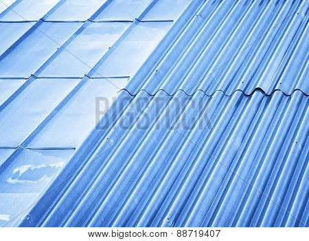 Two Types Of Metal Roofs
