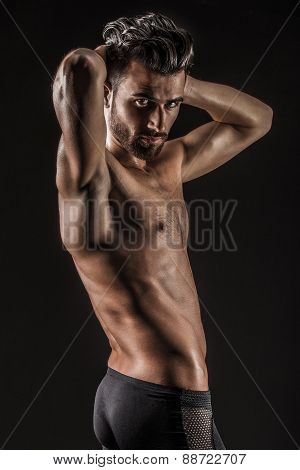 The Muscular Young Sexy Naked Cute Man