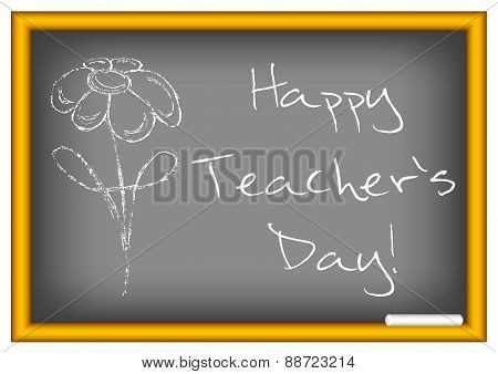 Postcard For Teacher's Day