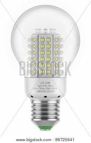 Led Lamp Saving Energy