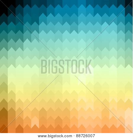 Abstract geometric colorful background - eps10