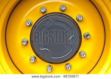 Yelow Wheel Rim