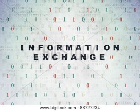 Information concept: Information Exchange on Digital Paper