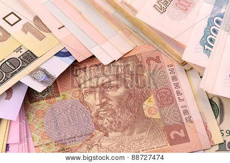 European Money Set Background