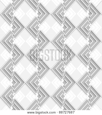 3D White And Gray Corners