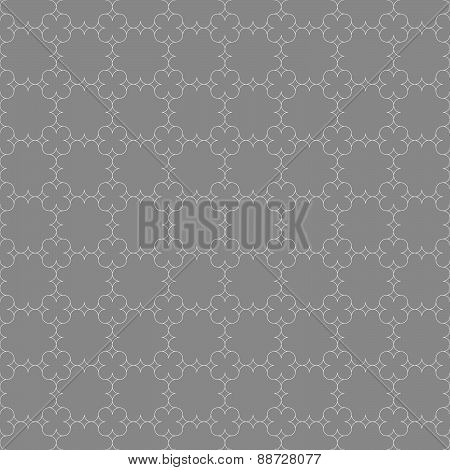 Gray Ornament With Slim Eastern Grid
