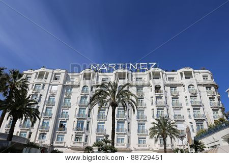 Grand Hyatt Cannes Hotel Martinez In Cannes At The Croisette
