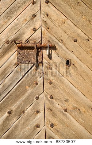 Bolted Door