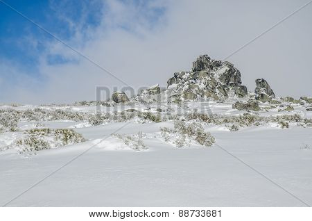 Landscape Of Serra Da Estrela