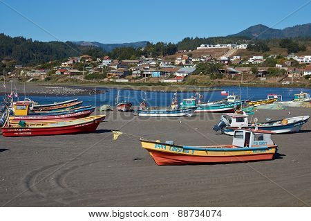Fishing Fleet on the Beach