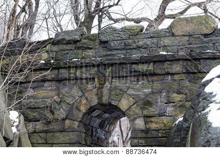 Top Of The Ramble Stone Arch