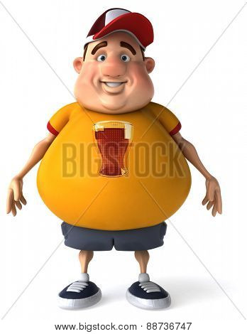 Overweight guy