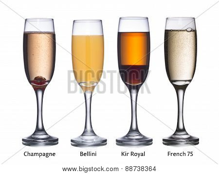 Champagne Based Cocktails