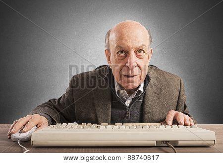 Elderly nerd