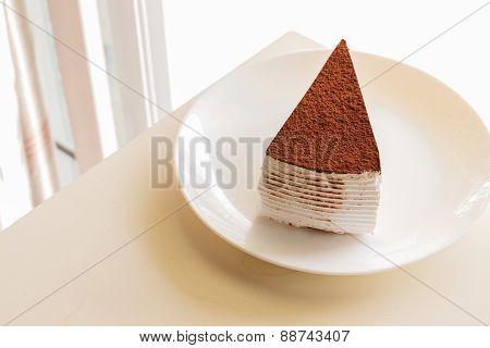 Tiramisu Topping With Cocoa Powder