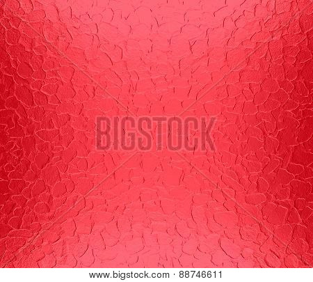 Alizarin crimson metallic metal texture background