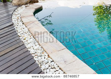 Edge Of The Swimming Pool