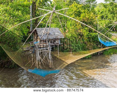 Thai Style Fishing Trap
