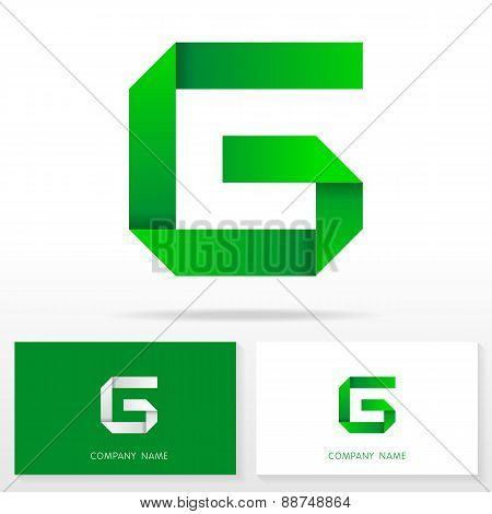 Letter G logo icon design template elements - Illustration