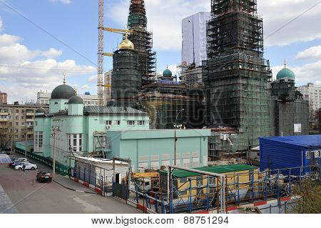 Reconstruction Of The Moscow Cathedral Mosque