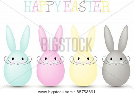 cmyk easter bunnies
