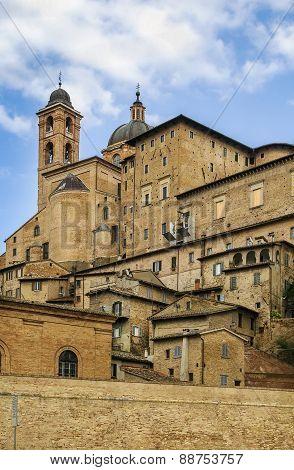 View Of Urbino, Italy