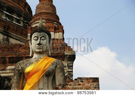 Buddhas In Ayutthaya