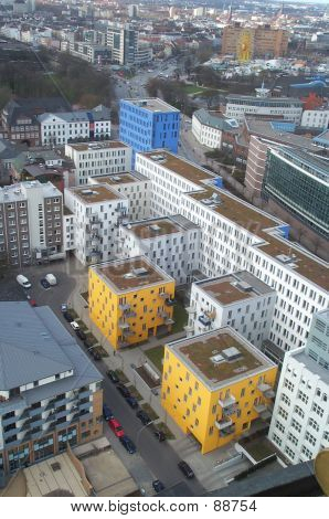 Hamburg, Germany From The Air