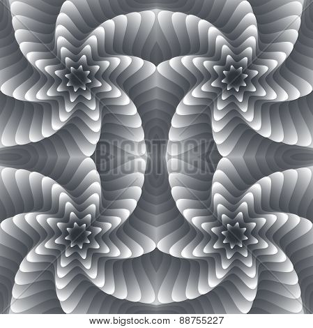 Vortex Vector Seamless Pattern